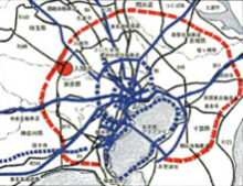入間市の広域的位置図